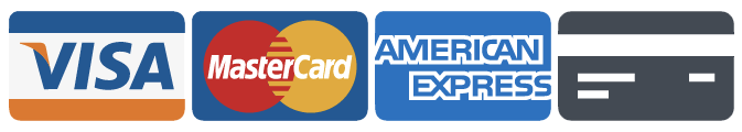 Major Credit Cards Accepted